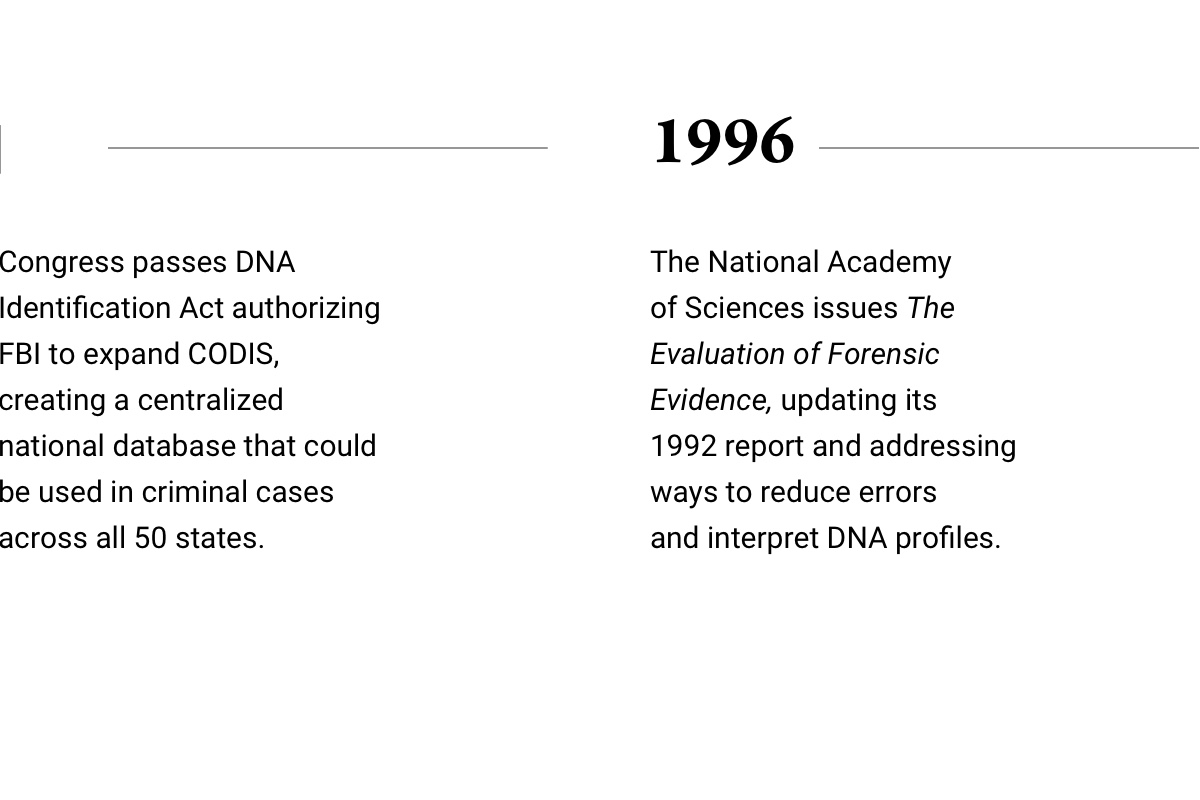 DNA's Revolutionary Role in Freeing the Innocent in the U S